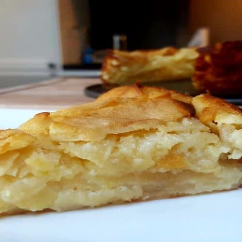 layered apple pie