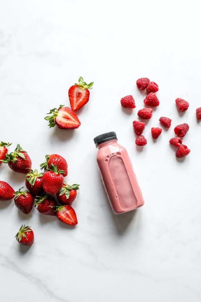 Strawberry Yogurt Smoothie recipe