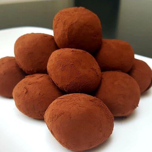 condensed milk chocolate truffles