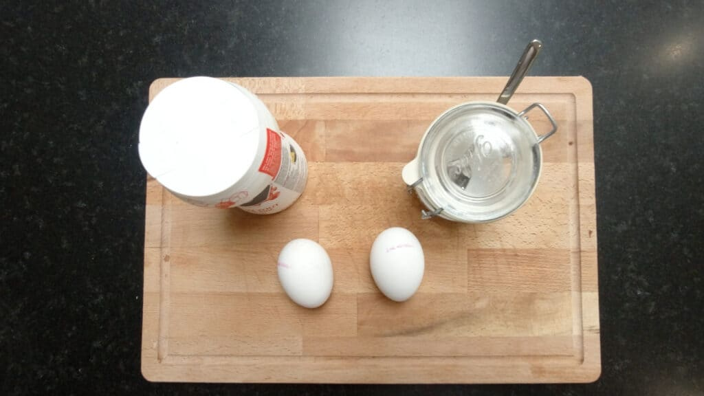 fluffy souffle eggs ingredients