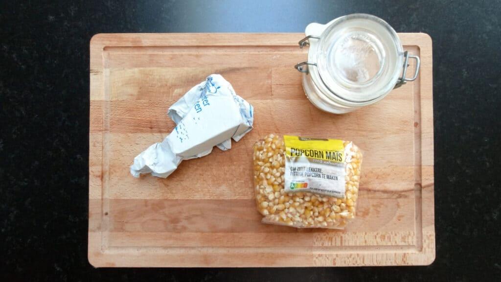 popcorn caramel recipe