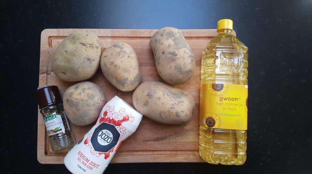 sea salt chips recipe