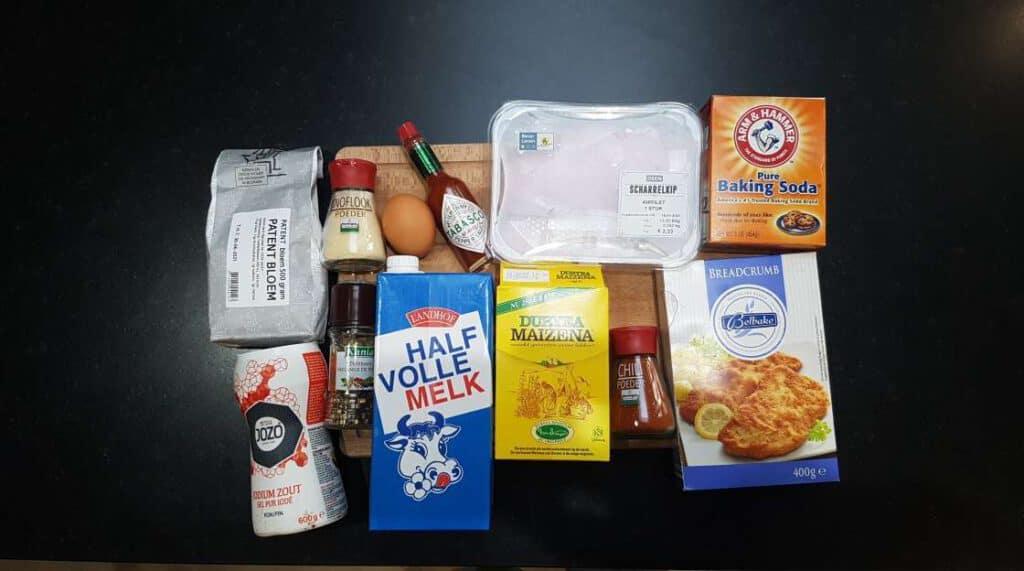 spicy popcorn chicken ingredients