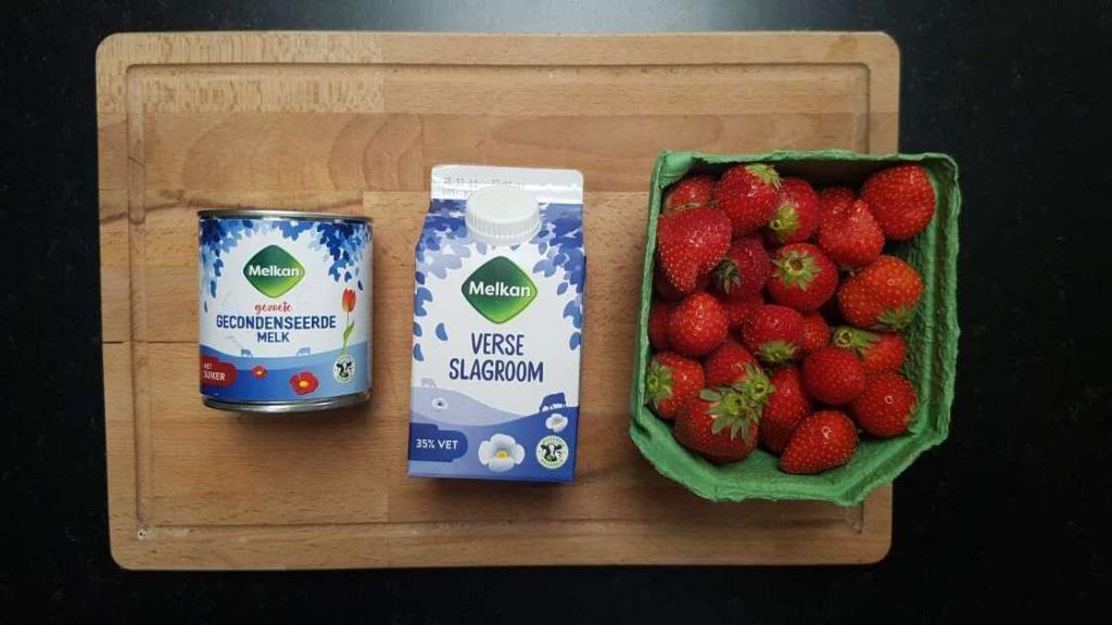 Strawberry ice-cream recipe