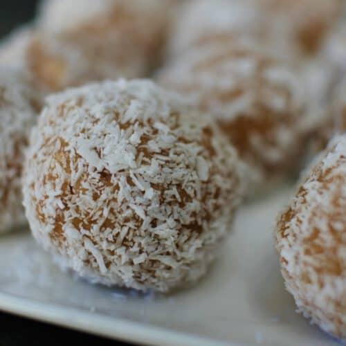 banana coconut balls