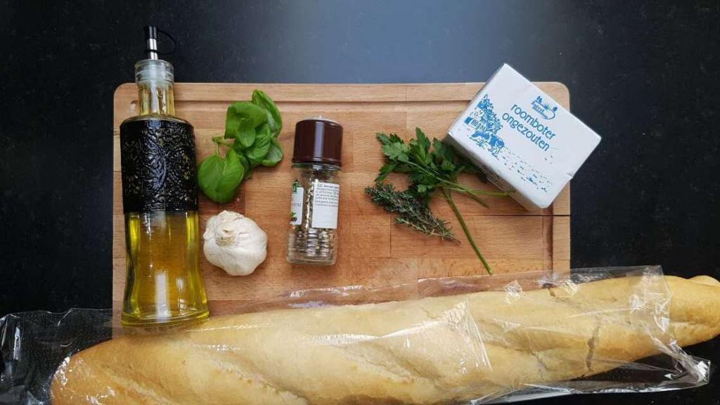 Garlic Bread Spread recipe