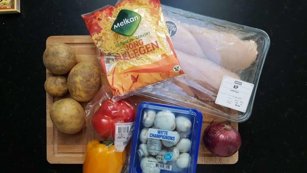 Potato Dish with Chicken recipe