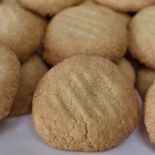 salty butter cookies