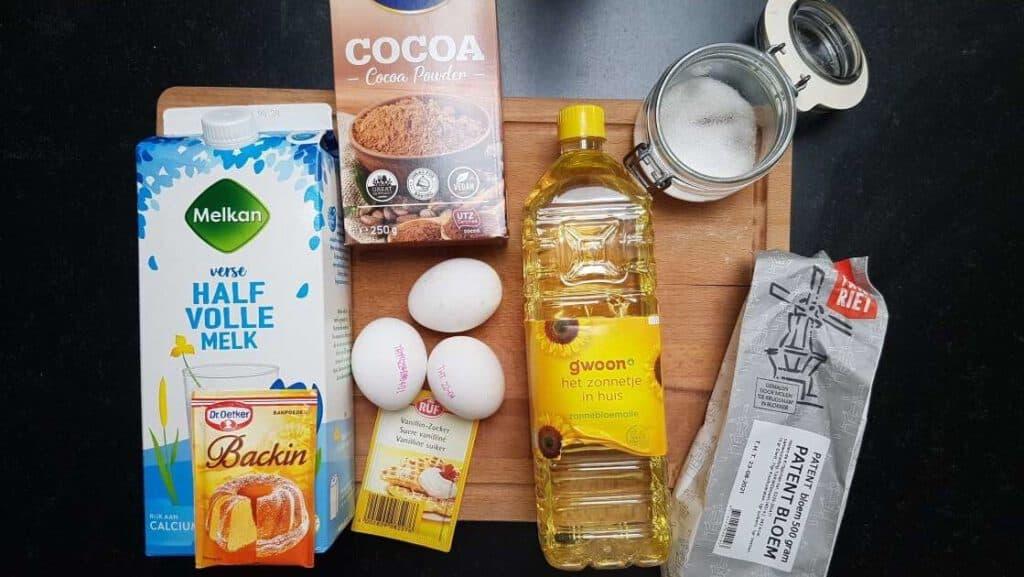 vanilla chocolate cake recipe